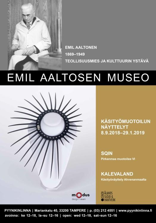 Sqin-juliste, Emil Altosen museo
