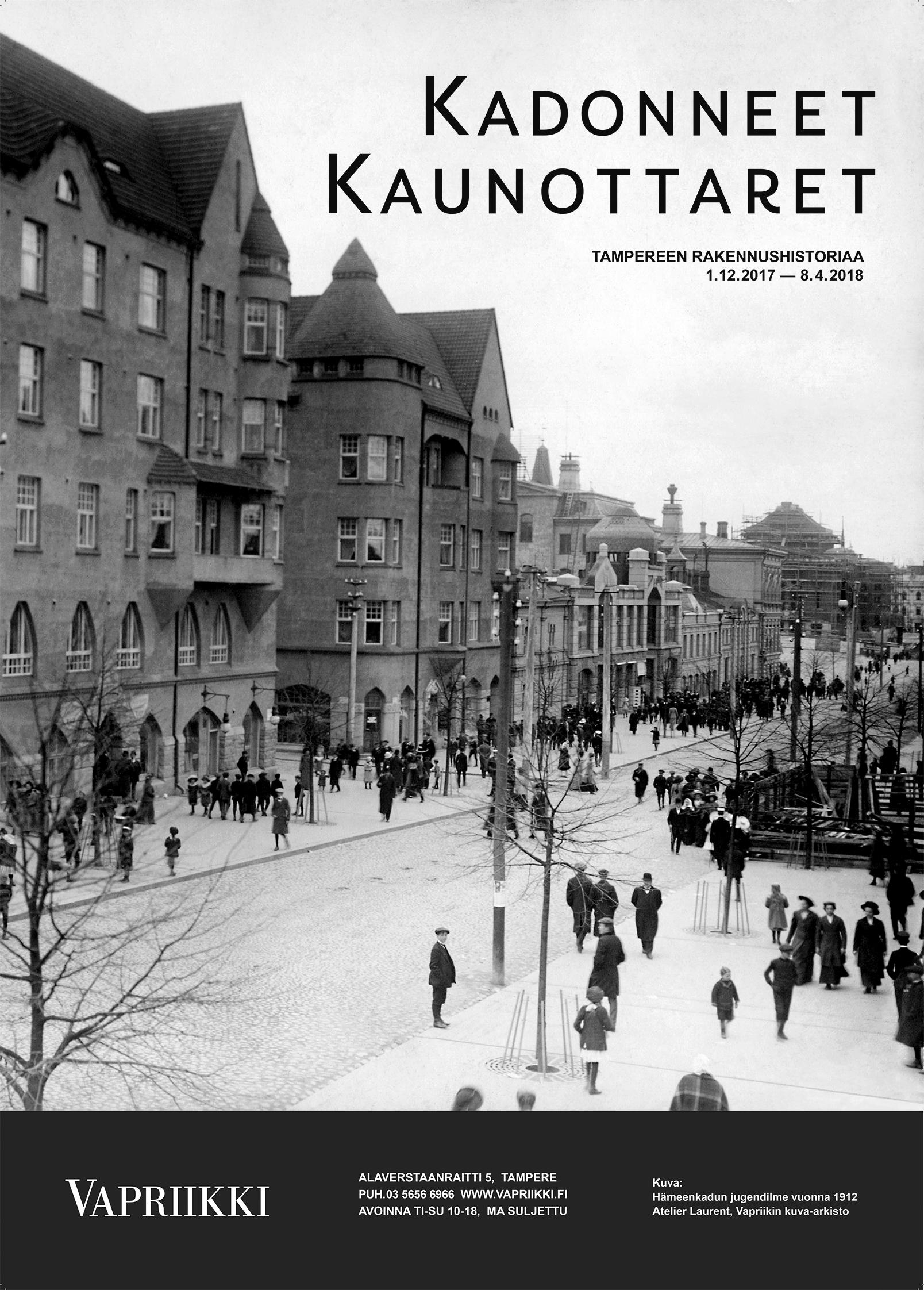 Juliste-Kadonneet-Kaunottaret-50x70