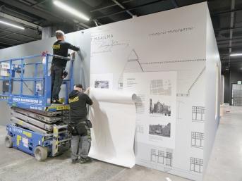 Näyttelyarkkitehtuuri / Kadonneet kaunottaret, Vapriikki