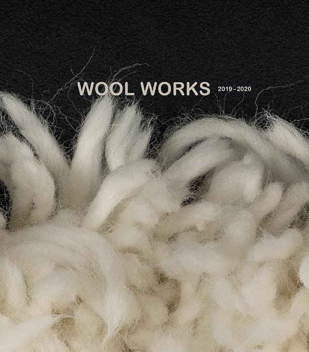 WOOLWORKS julkaisun kansi, osa Johanna Hernesniemen teoksesta