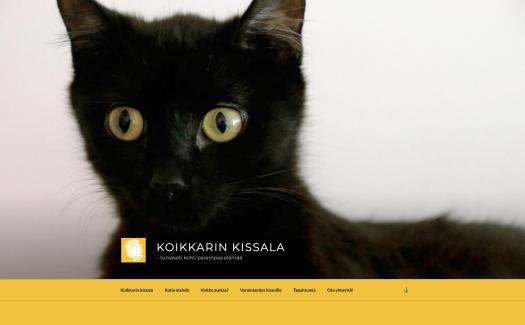 Koikkarin kissalan sivusto, alkunäkymä
